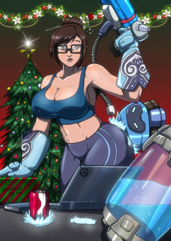 Christmas Time Mei by Montreal Mack