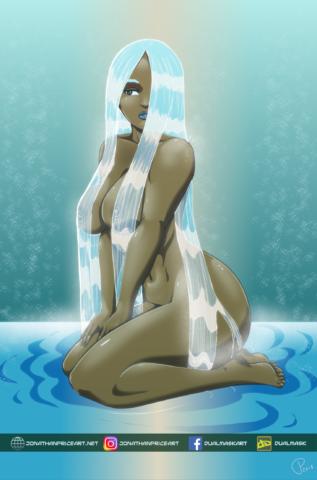 Maji, Goddess of Water