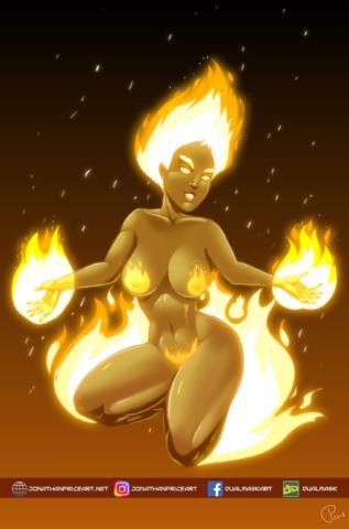 Moto, Goddess of Flame